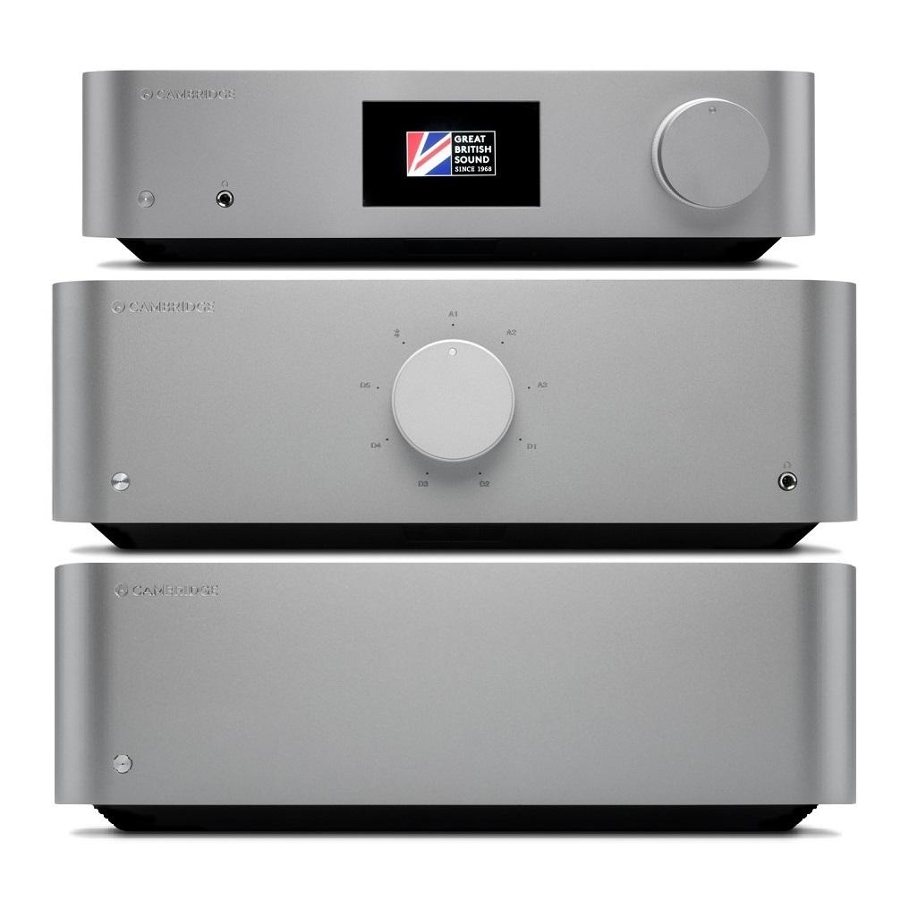 Alle drei neuen Edge-Modelle von Cambridge Audio untereinander