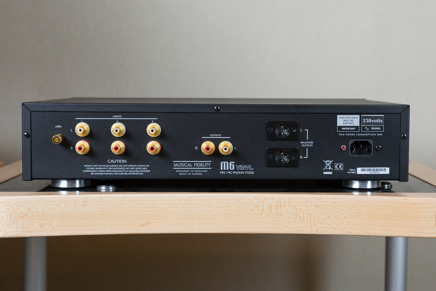 Introducing The New Musical Fidelity M6 Vinyl Preamp