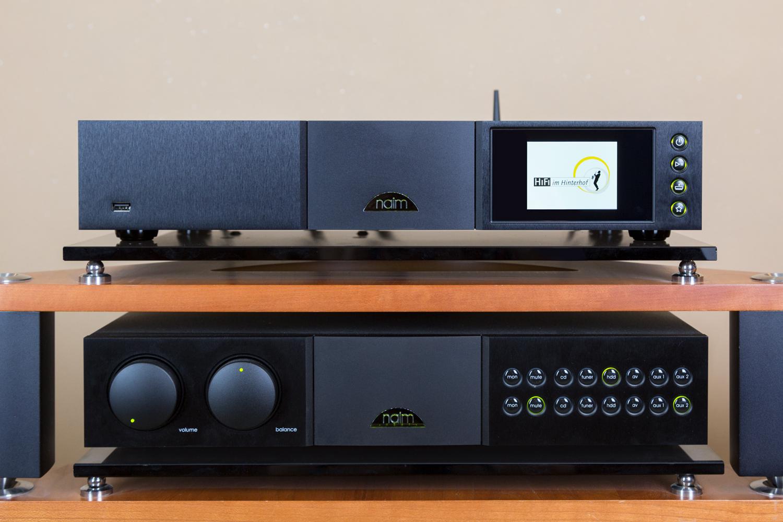 Der neue Naim Audio ND 555 vorführbereit bei HiFi im Hinterhof