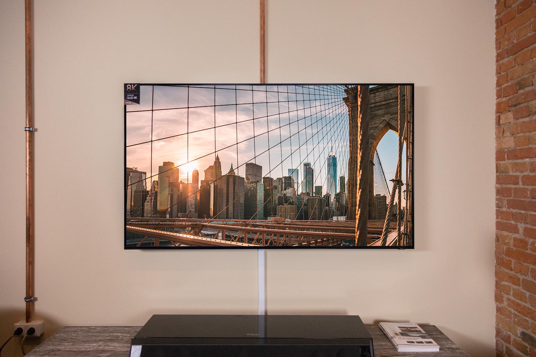 Der 8K QLED TV Samsung Q900R in unserer Vorführung
