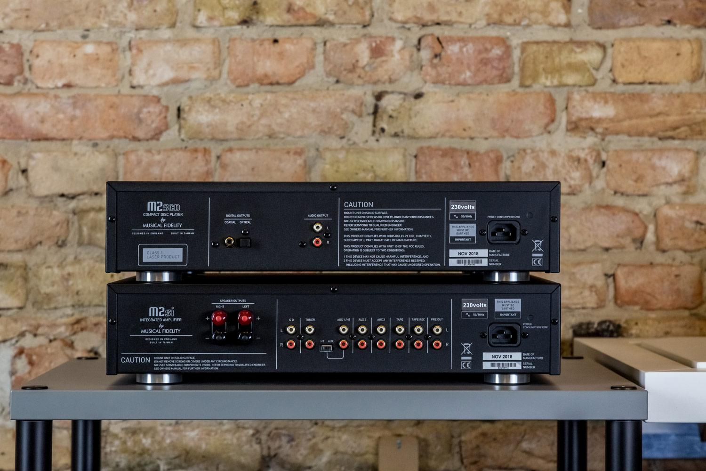 Anschlussfreudig: Musical Fidelity M2sCD und M2si