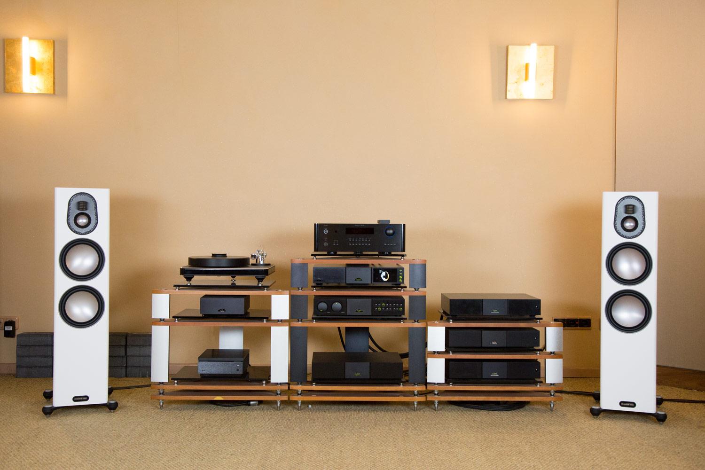 Die Monitor Audio Gold 5G Serie bei HiFi im Hinterhof