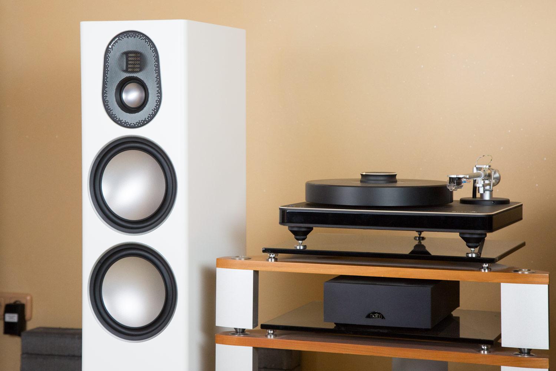 Die Tief-/Mitteltöner der Monitor Audio Gold Serie 5G mit RDT II Membran und Dynamik Coupling Filter