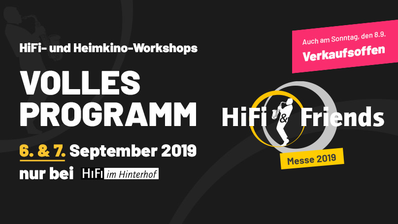 Die HiFi & Friends Messe 2019