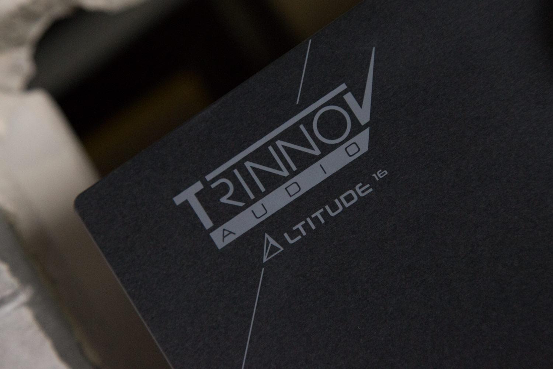 Keine Verwechslungsgefahr: Das Trinnov Logo