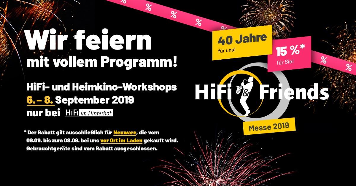 Die HiFi & Friends Messe 2019