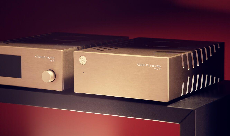 Die beiden Modelle PH-10 und PSU-10 von Gold Note im Zusammenspiel