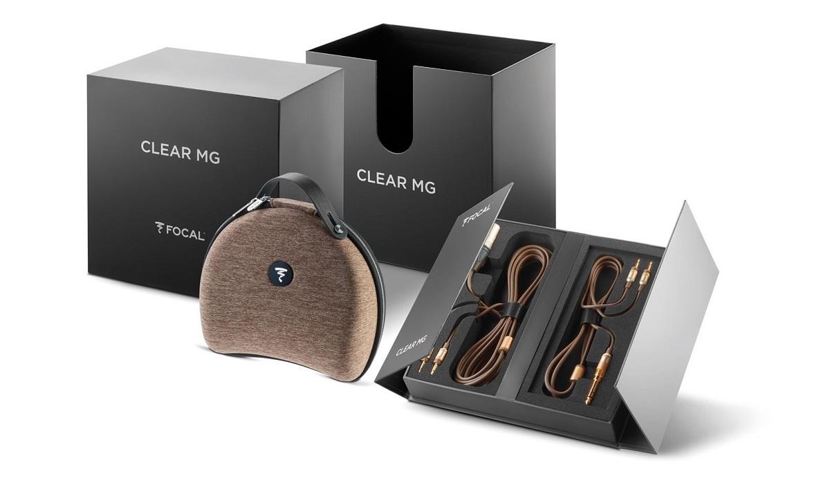 Der Focal Clear Mg in seiner Verpackung