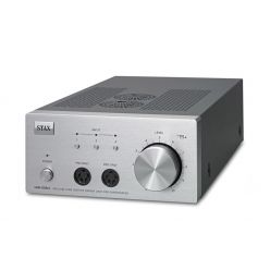 stax srm-006ts kopfhörer verstärker röhre hybrid silber