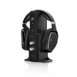 sennheiser rs 195 on-ear kopfhörer wireless kabellos schwarz ständer stand