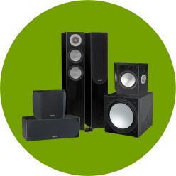 Monitor Audio Silver Cinema 200 Paket