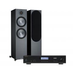 Monitor Audio Bronze 500 + Rotel A11 Tribute