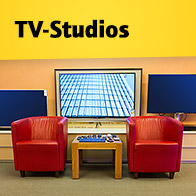 TV-Studios bei HiFi im Hinterhof