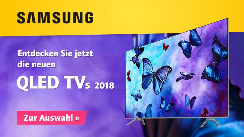 Neue Samsung QLED TVs 2018 bei HiFi im Hinterhof