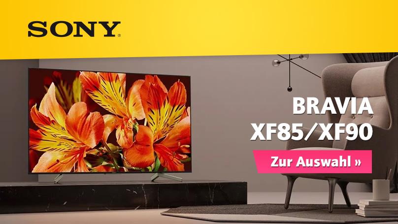 Neue Sony BRAVIA XF85/XF90 bei HiFi im Hinterhof