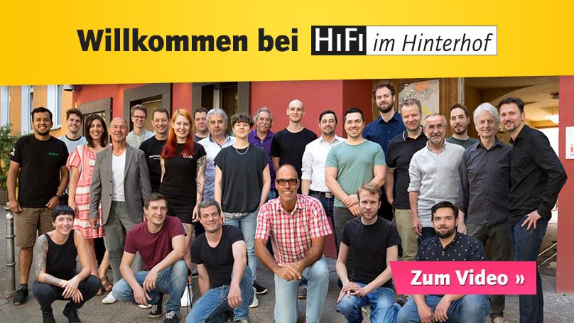 Unser HiFi-Team ist für Sie da!