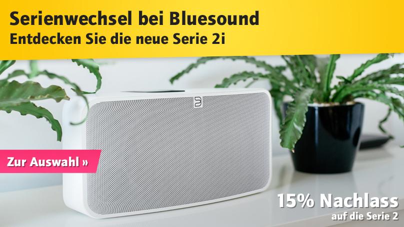 Serienwechsel bei Bluesound – Serie 2i bei HiFi im Hinterhof