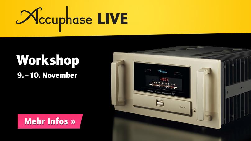 Accuphase LIVE – Workshop bei HiFi im Hinterhof
