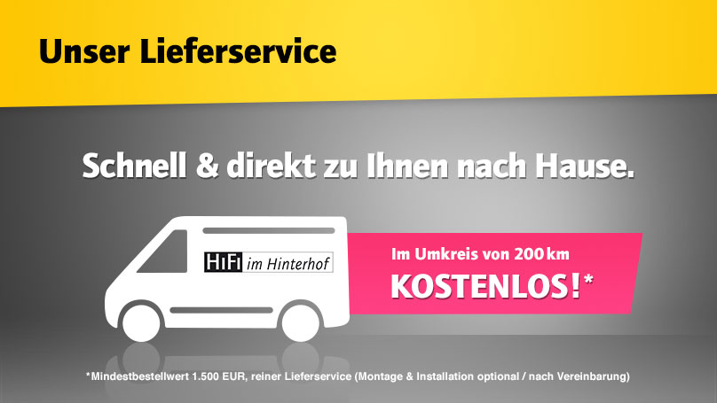 HiFi im Hinterhof Lieferservice